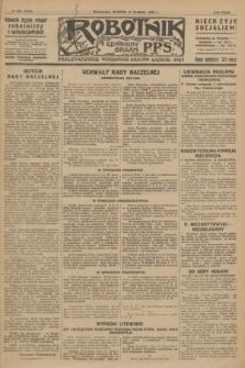 Robotnik : centralny organ P.P.S. R.32, № 350 (21 grudnia 1926) = № 3150