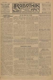 Robotnik : centralny organ P.P.S. R.32, № 354 (27 grudnia 1926) = № 3154