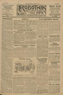 Robotnik : centralny organ P.P.S. R.33, № 20 (21 stycznia 1927) = № 3178