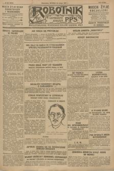 Robotnik : centralny organ P.P.S. R.33, nr 52 (22 lutego 1927) = nr 3212