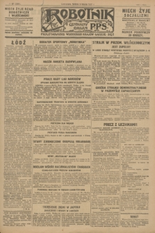 Robotnik : centralny organ P.P.S. R.33, № 67 (9 marca 1927) = № 3267