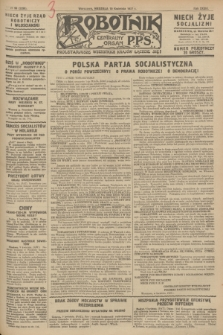 Robotnik : centralny organ P.P.S. R.33, № 99 (10 kwietnia 1927) = № 3299 + dod.