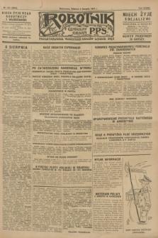 Robotnik : centralny organ P.P.S. R.33, nr 214 (6 sierpnia 1927) = № 3054