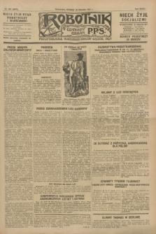 Robotnik : centralny organ P.P.S. R.33, nr 237 (30 sierpnia 1927) = nr 3077