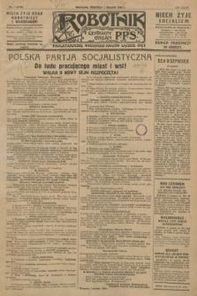 Robotnik : centralny organ P.P.S. R.34, nr 1 (1 stycznia 1928) = nr 3198