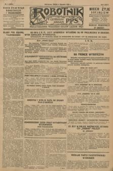 Robotnik : centralny organ P.P.S. R.34, nr 4 (4 stycznia 1928) = nr 3201