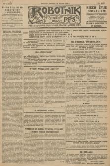 Robotnik : centralny organ P.P.S. R.34, nr 8 (8 stycznia 1928) = nr 3205