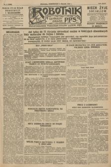 Robotnik : centralny organ P.P.S. R.34, nr 9 (9 stycznia 1928) = nr 3206