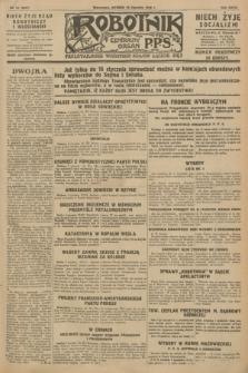 Robotnik : centralny organ P.P.S. R.34, nr 10 (10 stycznia 1928) = nr 3207