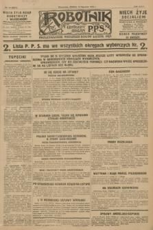 Robotnik : centralny organ P.P.S. R.34, nr 14 (14 stycznia 1928) = nr 3211