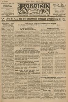 Robotnik : centralny organ P.P.S. R.34, nr 15 (15 stycznia 1928) = nr 3212