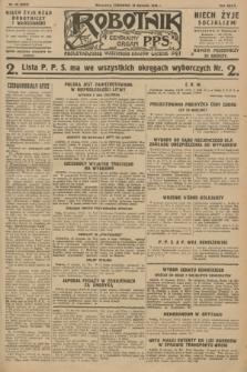 Robotnik : centralny organ P.P.S. R.34, nr 19 (19 stycznia 1928) = nr 3216
