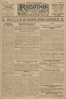 Robotnik : centralny organ P.P.S. R.34, nr 20 (20 stycznia 1928) = nr 3217