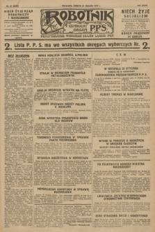 Robotnik : centralny organ P.P.S. R.34, nr 21 (21 stycznia 1928) = nr 3218