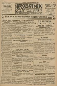 Robotnik : centralny organ P.P.S. R.34, nr 30 (30 stycznia 1928) = nr 3227