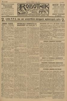 Robotnik : centralny organ P.P.S. R.34, nr 34 (3 lutego 1928) = nr 3231