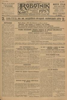 Robotnik : centralny organ P.P.S. R.34, nr 60 (29 lutego 1928) = nr 3257