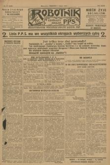 Robotnik : centralny organ P.P.S. R.34, nr 61 (1 marca 1928) = nr 3258
