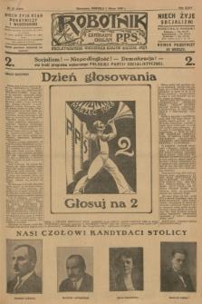 Robotnik : centralny organ P.P.S. R.34, nr 64 (4 marca 1928) = nr 3261
