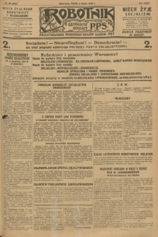 Robotnik : centralny organ P.P.S. R.34, nr 69 (9 marca 1928) = nr 3265
