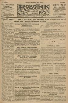 Robotnik : centralny organ P.P.S. R.34, nr 85 (25 marca 1928) = nr 3281