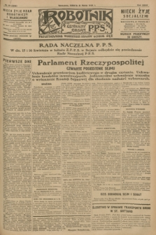Robotnik : centralny organ P.P.S. R.34, nr 91 (31 marca 1928) = nr 3286