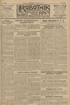 Robotnik : centralny organ P.P.S. R.34, nr 94 (2 kwietnia 1928) = nr 3289