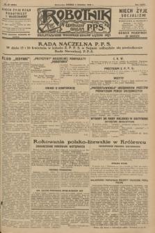 Robotnik : centralny organ P.P.S. R.34, nr 95 (3 kwietnia 1928) = nr 3290