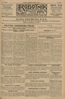 Robotnik : centralny organ P.P.S. R.34, nr 100 (10 kwietnia 1928) = nr 3295