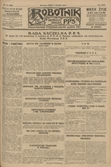 Robotnik : centralny organ P.P.S. R.34, nr 101 (11 kwietnia 1928) = nr 3296