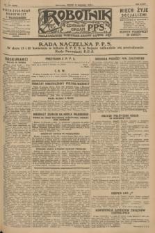 Robotnik : centralny organ P.P.S. R.34, nr 103 (13 kwietnia 1928) = nr 3298