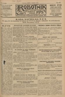 Robotnik : centralny organ P.P.S. R.34, nr 104 (14 kwietnia 1928) = nr 3299
