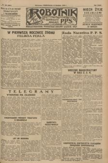 Robotnik : centralny organ P.P.S. R.34, nr 106 (16 kwietnia 1928) = nr 3301
