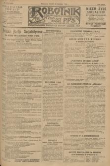 Robotnik : centralny organ P.P.S. R.34, nr 110 (20 kwietnia 1928) = nr 3305