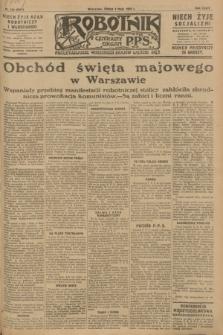 Robotnik : centralny organ P.P.S. R.34, nr 122 (2 maja 1928) = nr 3317