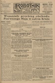 Robotnik : centralny organ P.P.S. R.34, nr 123 (3 maja 1928) = nr 3318