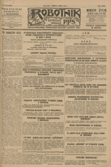 Robotnik : centralny organ P.P.S. R.34, nr 125 (5 maja 1928) = nr 3320