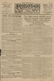 Robotnik : centralny organ P.P.S. R.34, nr 129 (9 maja 1928) = nr 3324