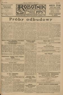 Robotnik : centralny organ P.P.S. R.34, nr 140 (20 maja 1928) = nr 3334