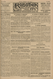 Robotnik : centralny organ P.P.S. R.34, nr 144 (24 maja 1928) = nr 3338