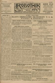 Robotnik : centralny organ P.P.S. R.34, nr 146 (26 maja 1928) = nr 3340