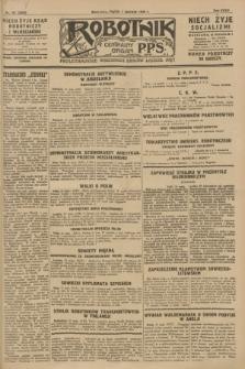 Robotnik : centralny organ P.P.S. R.34, nr 151 (1 czerwca 1928) = nr 3345