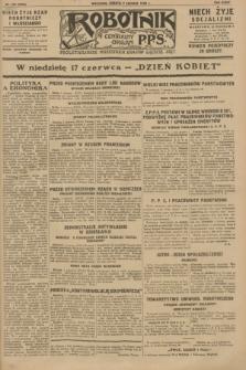 Robotnik : centralny organ P.P.S. R.34, nr 152 (2 czerwca 1928) = nr 3346