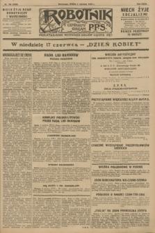 Robotnik : centralny organ P.P.S. R.34, nr 156 (6 czerwca 1928) = nr 3350