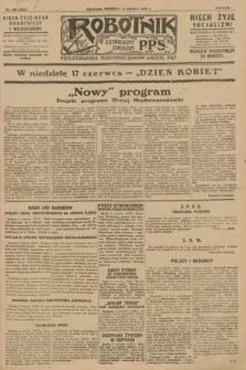 Robotnik : centralny organ P.P.S. R.34, nr 160 (10 czerwca 1928) = nr 3354