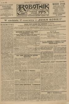Robotnik : centralny organ P.P.S. R.34, nr 165 (15 czerwca 1928) = nr 3359