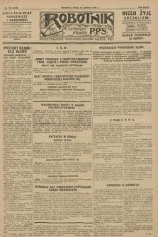 Robotnik : centralny organ P.P.S. R.34, nr 170 (20 czerwca 1928) = nr 3370