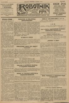 Robotnik : centralny organ P.P.S. R.34, nr 171 (21 czerwca 1928) = nr 3371