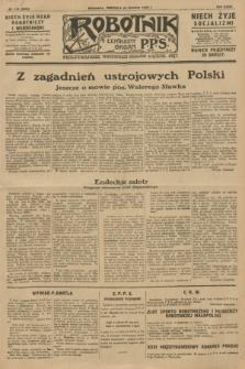 Robotnik : centralny organ P.P.S. R.34, nr 174 (24 czerwca 1928) = nr 3373