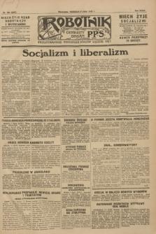 Robotnik : centralny organ P.P.S. R.34, nr 189 (8 lipca 1928) = nr 3387